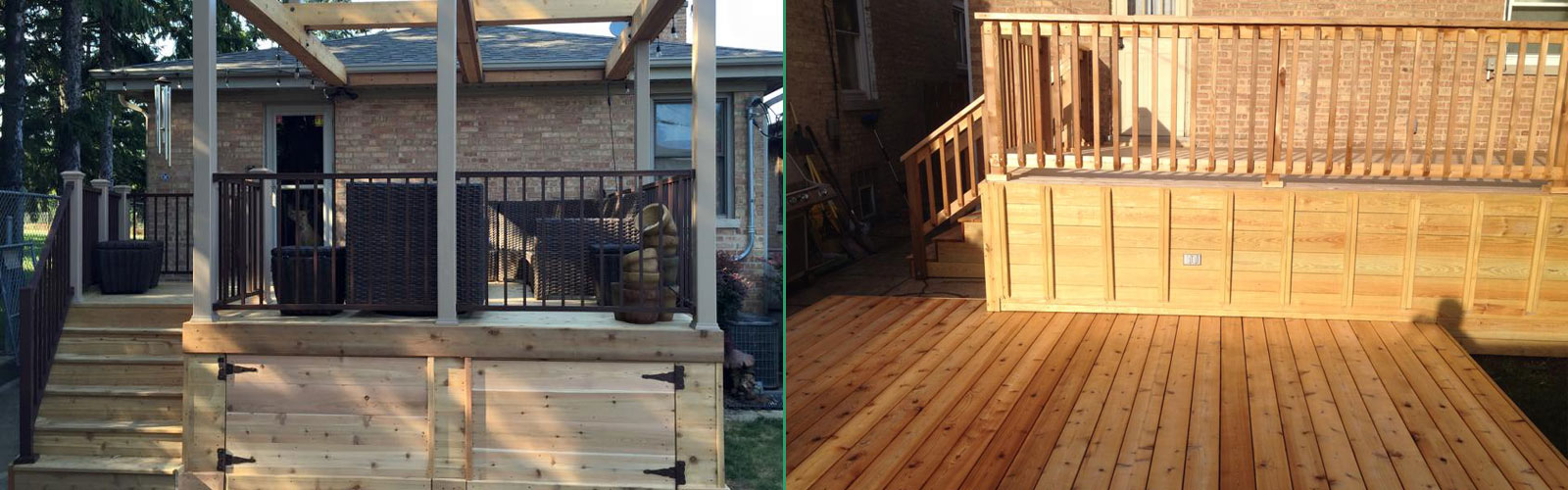 Decks Remodeling Work